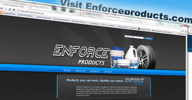 Enforce Products. A Division of IWP
